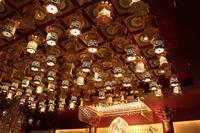 Lampen im Buddhistischen Tempel