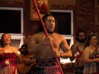 Maori-Abend im Te Puia, Rotorua