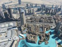 Dubai - Oman - Dubai-Mall -  Blick vom Burj Khalifa