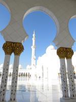 Dubai - Oman -  Ausflug nach Abu Dhabi - Besuch der Sheikh Zayed Moschee