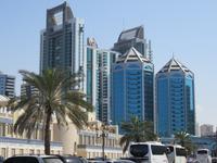Dubai - Oman -  Ausflug nach Sharjah - Skyline
