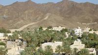 Oman: Blick von der Festung Bahla