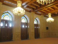 Muscat - Große Sultan Qaboos Moschee -