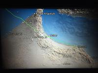 005 Landeanflug auf Muscat