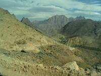Auf Piste im Hajar Gebirge
