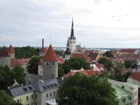 Blick von der Ober- auf die Unterstadt