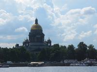 Blick zur Isaakskathedrale