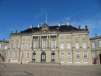 Innenhof von Schloss Amalienborg