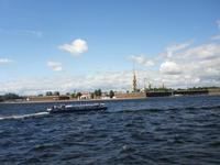 Bootsfahrt auf der Newa und den Känalen