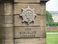 Die Königliche Garde an Schloss Rosenborg