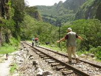 Wanderung entlang der Gleise