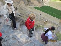 215_Unsere Fahrt in das Heilige Tal - Besuch der Anlage Ollantaytambo