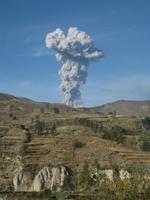 124_Das Colca Tal - rauchende Vulkane