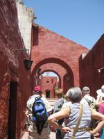 87_Auf Stadtrundgang durch das Altsatdtzentrum von Arequipa - Kloster Santa Katalina