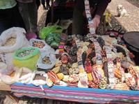 Verschiedenes auf dem Markt von Pisac