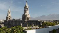 Arequipa, Blick vom Hoteldach