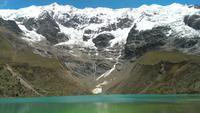 Humantay Gletscher und See