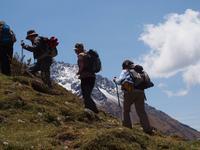 Wanderung zum Humantay Gletscher