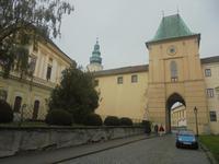 Kromeriz, Schlosstor
