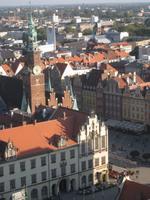 Breslau, Blick auf den Rynek