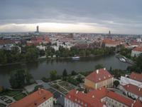 Breslau, Blick vom Domturm