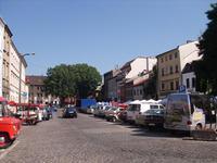 Die Szeroka Strasse in Kazimierz