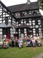 Unsere Gruppe vor der Friedenskirche in Schweidnitz
