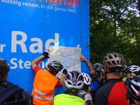Besprechung der Radtour