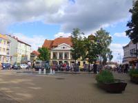 Marktplatz in Nikolaiken