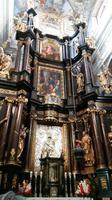 Blick zum Altar in der Wallfahrtskirche