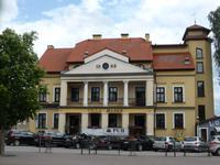 Mikolajki - das älteste Hotel der Stadt
