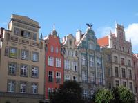 Fassaden in Danzig