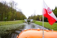 Bootsfahrt auf dem Oberlandkanal