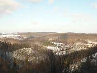 Blick vom Schloss Fürstenstein