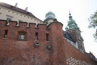 Wawelburg - Befestigungsmauern
