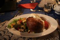 Jüdische Knödel - gefüllt mit Kartoffeln und Käse