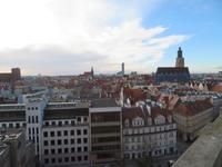 Blick vom Aussichtsturm der Universität über Breslau