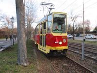 Straßenbahnfahrt durch Breslau