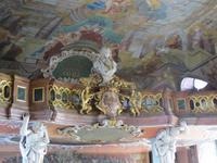 Empore in der Aula Leopoldina