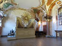 Orgel im Oratorium Marianum, dem Musiksaal der Universität