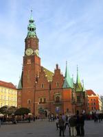 Blick zur Westfassade des Alten Rathauses
