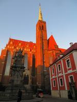 Blick zur Kreuzkirche auf der Dominsel