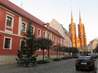 Die Domstraße mit Blick zum Dom