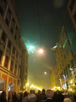 Feuerwerk an der Elisabethkirche