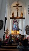in der Marienkirche von Danzig
