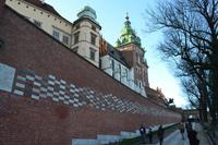 Aufgang zum Wawel