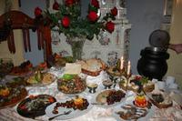 Kleines Abendbuffet am Neujahrstag