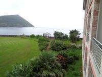 Terceira, Blick vom Balkon des Hotelzimmers