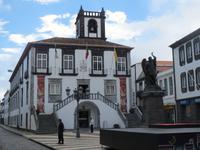 IMG_2328_Rathaus mit St. Michael, Ponta Delgada