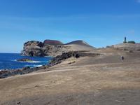 Der Vulcão dos Capelinhos Vulkan auf der Insel Faial mit Leuchtturm (10)
